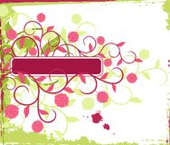 Marco floral. libre illustration