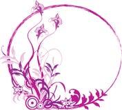 Marco floral Imágenes de archivo libres de regalías