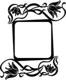 Marco floral Imagen de archivo libre de regalías