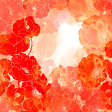 Marco floral stock de ilustración