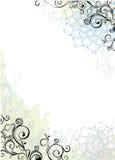 Marco floral abstracto Fotografía de archivo