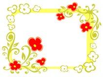 Marco floral adornado libre illustration