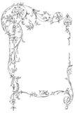 Marco floral clásico libre illustration