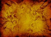 Marco floral de Grunge ilustración del vector