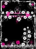 Marco floral de Grunge, vector Fotos de archivo libres de regalías
