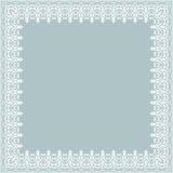 Marco floral de la multa del vector Fotos de archivo