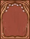 Marco floral de la vendimia libre illustration