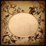 Marco floral de las texturas y de los fondos del estilo Imagen de archivo libre de regalías
