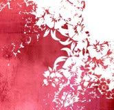 Marco floral de los fondos del estilo Imagen de archivo libre de regalías