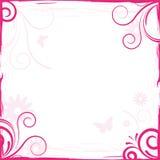 Marco floral del fondo Imágenes de archivo libres de regalías