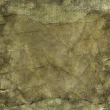 Marco floral del grunge en el papel viejo del pergamino .old con el patt floral Imagenes de archivo