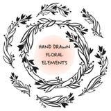 Marco floral del vector Foto de archivo libre de regalías