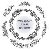 Marco floral del vector Imagen de archivo libre de regalías