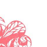 Marco floral delicado Imágenes de archivo libres de regalías