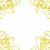 Marco floral delicado Fotos de archivo