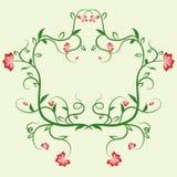 Marco floral delicado Adorne para las tarjetas y las invitaciones de felicitación de las plantillas del diseño libre illustration
