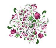 Marco floral. Fondo de la acuarela del vector. Imágenes de archivo libres de regalías