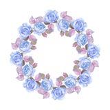 Marco floral hermoso 5 Foto de archivo libre de regalías