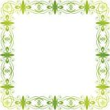 Marco floral verde Imagenes de archivo