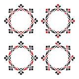 Marco geométrico redondeado simple libre illustration