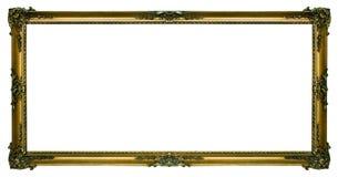 Marco grande del paisaje del oro Imagen de archivo