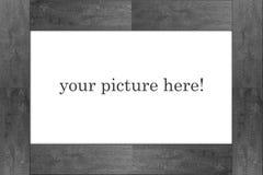 Marco gris - en blanco Fotografía de archivo libre de regalías