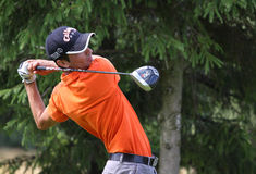 Marco Guerisoli no golfe Prevens Trpohee 2009 Fotos de Stock Royalty Free