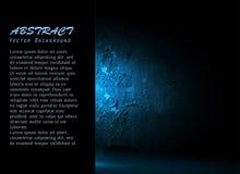 Marco hermoso del vector con la pared brillante Fotos de archivo