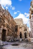 Marco histórico 11 de Baalbek foto de stock