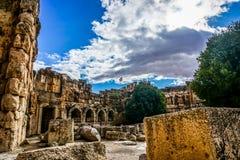 Marco histórico 13 de Baalbek imagens de stock royalty free