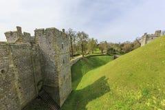 Marco histórico em torno do castelo de Arundel foto de stock