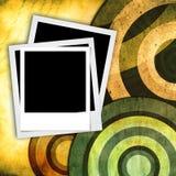 Marco inmediato de la foto en fondo de la vendimia Fotos de archivo libres de regalías