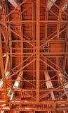 Marco interno de la máquina de trabajo del túnel Fotografía de archivo