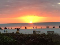 Marco Island Sunset Royalty Free Stock Images