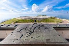 Marco italiano Primeiro memorial de guerra mundial Fotografia de Stock