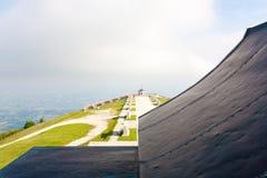 Marco italiano Primeiro memorial de guerra mundial Foto de Stock Royalty Free