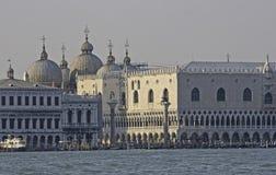 marco kanałowy uroczysty piazza San Venice Obraz Stock