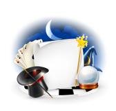 Marco mágico Imágenes de archivo libres de regalías