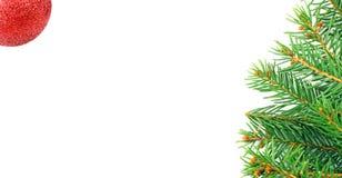 Marco mágico azul de la Navidad Fotografía de archivo libre de regalías