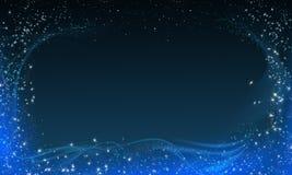 Marco mágico de la noche Imagen de archivo libre de regalías