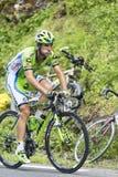 Marco Marcato op Col. du Tourmalet - Ronde van Frankrijk 2015 Royalty-vrije Stock Foto's