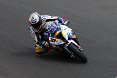 Marco Melandri #33 on BMW S1000 RR with BMW Motorrad GoldBet SBK Team Superbike WSBK royalty free stock photos