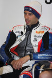 Marco Melandri BMW S1000 RR - BMW Motorsport Royalty Free Stock Photography