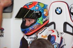 Marco Melandri BMW S1000 RR - BMW Motorsport Stock Image