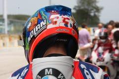 Marco Melandri BMW S1000 RR - BMW Motorsport Stock Images