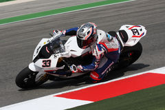 Marco Melandri BMW S1000 RR - BMW Motorsport Royalty Free Stock Photo