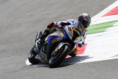 Marco Melandri #33 sur BMW S1000 rr avec BMW Motorrad GoldBet SBK Team Superbike WSBK Photo libre de droits