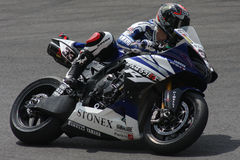 Marco Melandri - Yamaha R1 SBK stock photo