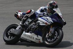 Marco Melandri - Yamaha R1 SBK Foto de archivo