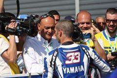 Marco Melandri - Yamaha R1 SBK Stock Photo